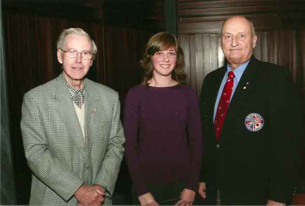 Dr. William Norrie, Rebecca Vanderhooft, Col Gary Solar